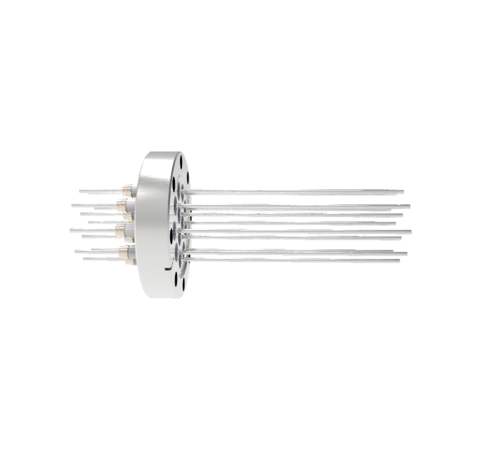 0.094 Conductor Diameter 12 Pin 5kV 3.6 Amp 304 Stn. Stl. Conductor in a CF3.375
