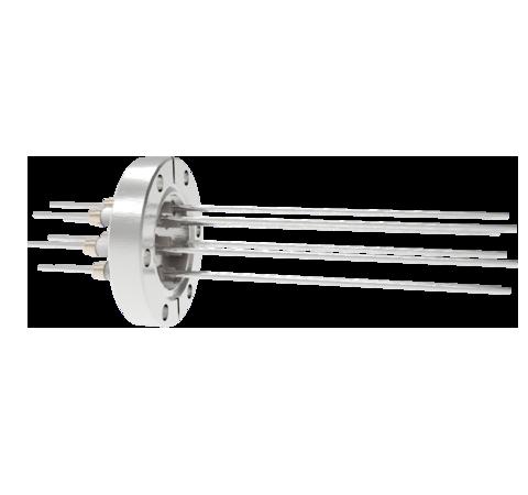 0.094 Conductor Diameter 8 Pin 5kV 16.5 Amp Nickel Conductor in a CF2.75