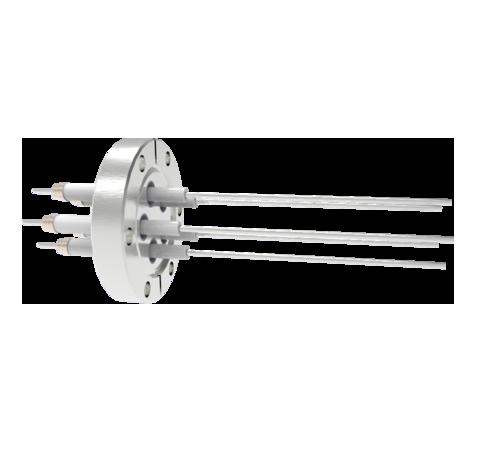 0.094 Conductor Diameter 5 Pin 20kV 16.5 Amp Nickel Conductor in a CF2.75