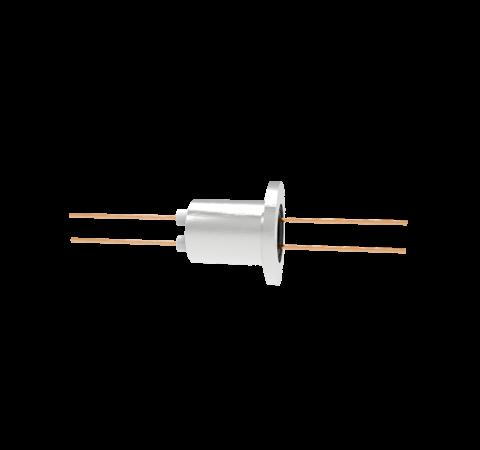 0.050 Conductor Diameter 2 Pin 3kV 27 Amp Copper Conductor in a KF16