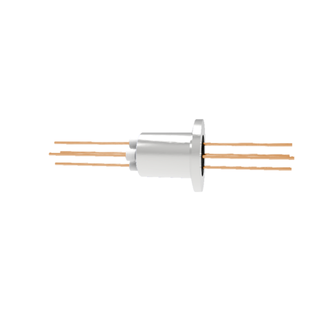0.050 Conductor Diameter 4 Pin 3kV 27 Amp Copper Conductor in a KF16