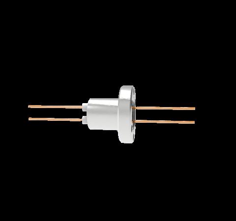 0.050 Conductor Diameter 2 Pin 3kV 27 Amp Copper Conductor in a CF1.33