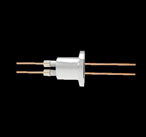 0.050 Conductor Diameter 2 Pin 6kV 27 Amp Copper Conductor in a KF16