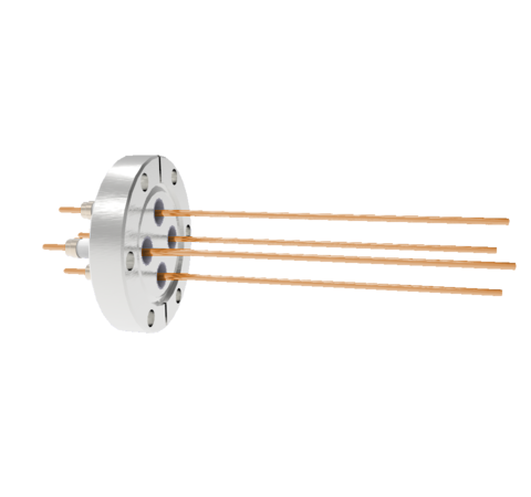 0.094 Conductor Diameter 4 Pin 10kV 30 Amp Copper Conductor in a CF2.75