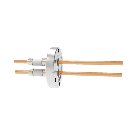 0.250 Conductor Diameter 2 Pin 12kV 185 Amp Copper Conductor in a CF2.75