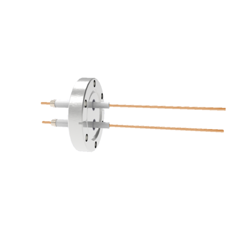 0.094 Conductor Diameter 2 Pin 20kV 30 Amp Copper Conductor in a CF2.75