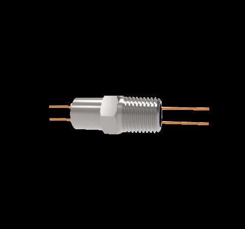 0.032 Conductor Diameter 2 Pin 2kV 16 Amp Copper Conductor in a NPT 1/4