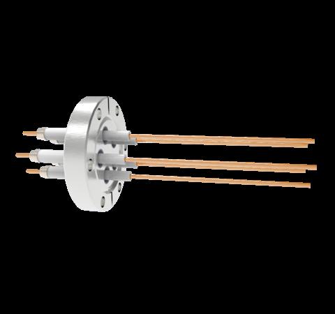 0.094 Conductor Diameter 5 Pin 20kV 30 Amp Copper Conductor in a CF2.75