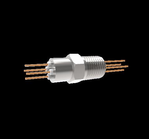 0.032 Conductor Diameter 4 Pin 2kV 16 Amp Copper Conductor