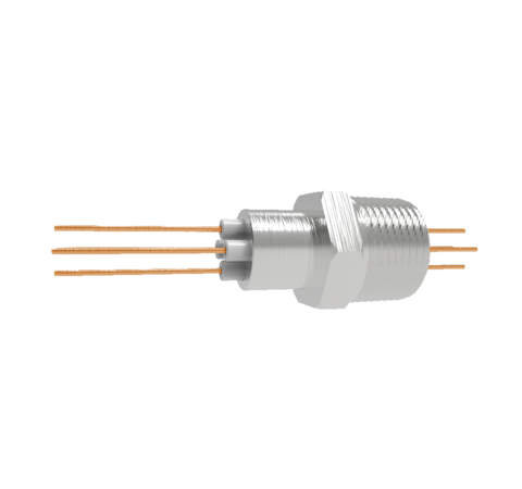 0.050 Conductor Diameter 4 Pin 3kV 27 Amp Copper Conductor in a NPT 3/4