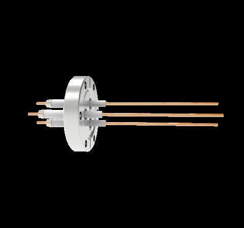0.094 Conductor Diameter 3 Pin 20kV 30 Amp Copper Conductor in a CF2.75