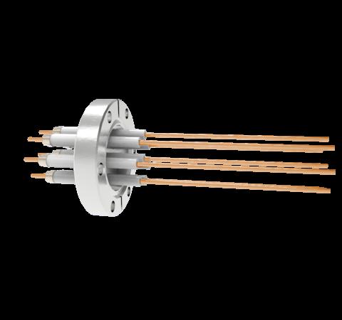0.094 Conductor Diameter 8 Pin 20kV 30 Amp Copper Conductor in a CF2.75