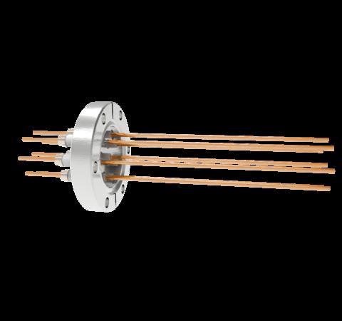 0.094 Conductor Diameter 8 Pin 5kV 55 Amp Copper Conductor in a CF2.75