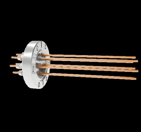 0.094 Conductor Diameter 8 Pin 10kV 30 Amp Copper Conductor in a CF2.75