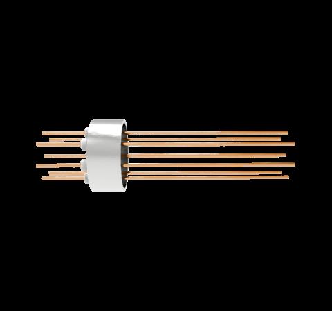 0.032 Conductor Diameter 8 Pin 1.5kV 16 Amp Copper Conductor Weld