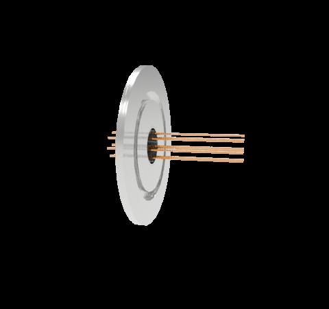 0.032 Conductor Diameter 8 Pin 1.5kV 16 Amp Copper Conductor in a KF50