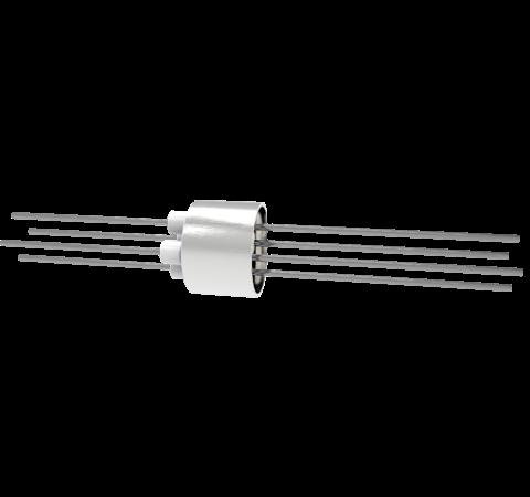 0.050 Conductor Diameter 4 Pin 3kV 13.5 Amp Molybdenum Conductor Weld