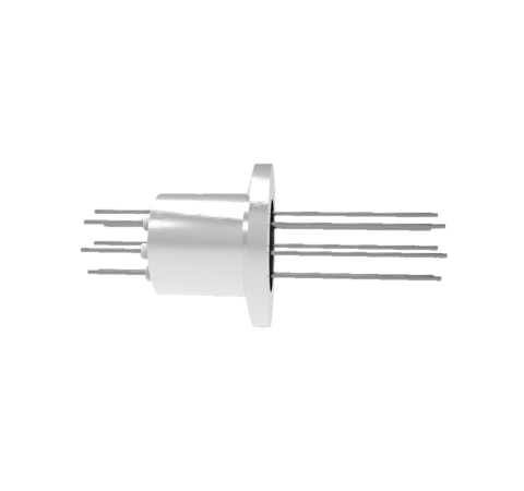0.032 Conductor Diameter 8 Pin 1.5kV 8.5 Amp Molybdenum Conductor in a KF16