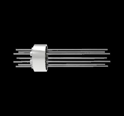 0.032 Conductor Diameter 8 Pin 1.5kV 8.5 Amp Molybdenum Conductor Weld