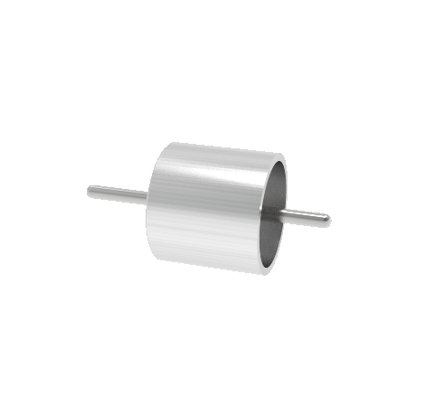 0.038 Conductor Diameter, 1 Pin, 1kV, 2.5 Amp, 300 Series SS Conductor