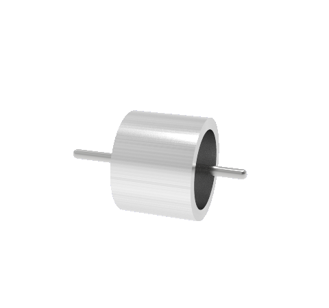 0.038 Conductor Diameter 1 Pin 3kV 2.5 Amp 300 Series SS Conductor