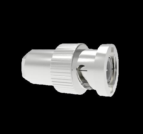 BNC Connector Air Side Plug, 500V, 5 Amp