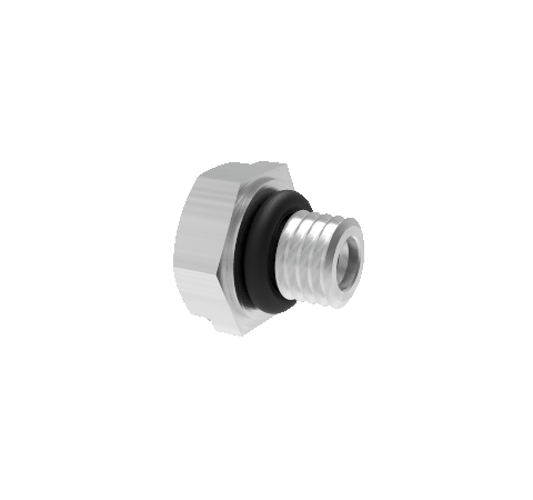 Threaded SMP 50 Ohm, Double Ended, Grounded Shield, 500V, Limited Detent Hex, Full Detent Thread