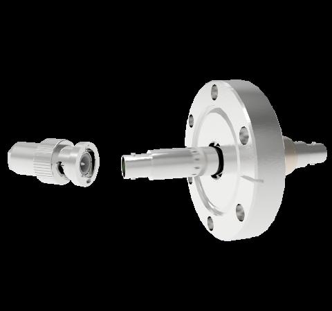 BNC Floating Shield  500V 3.6 Amp CF2.75 Flange With Plug