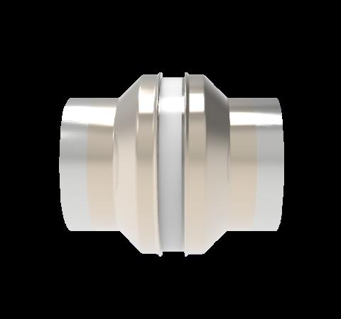 5kV Isolator, 1.3 Inch Insulator ID, Cryogenic Rated From -269°C to 450°C, Weld in Break