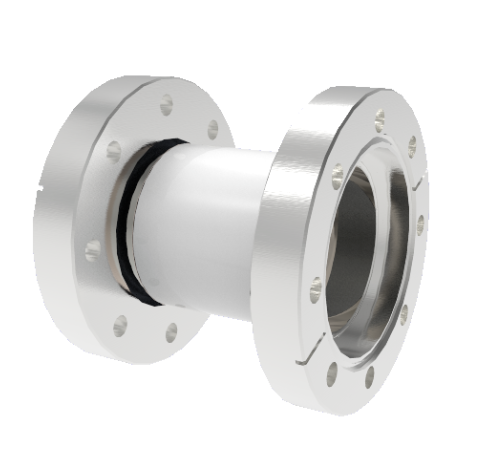 40kV Isolator, 2.0 Inch Insulator ID, Rated From -55°C to 450°C, Break on CF4.50 Conflat Flanges