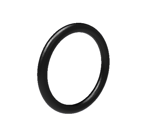 O-Ring, Viton, for use with Hermetic Fiber Optic Baseplate Adapters (Other Materials Available)