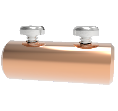 Barrel Contacts, 10 Per Package, For 0.125 Inch Diameter Pin, Beryllium Copper, 25 Amp