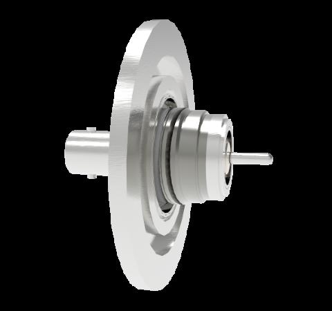 MHV Floating Shield  5kV 3.6 Amp 0.094 304 Stn. Stl. Conductor KF40 Flange Without Plug