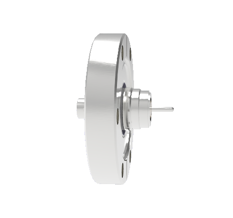 BNC Floating Shield  500V 3.6 Amp 0.094 304 Stn. Stl. Conductor CF2.75 Flange Without Plug
