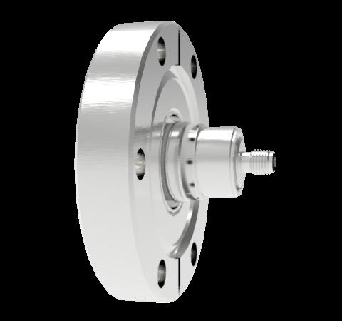 SMA  50 Ohm Floating Shield  500V 0.8 Amp CF2.75 Flange Without Plug