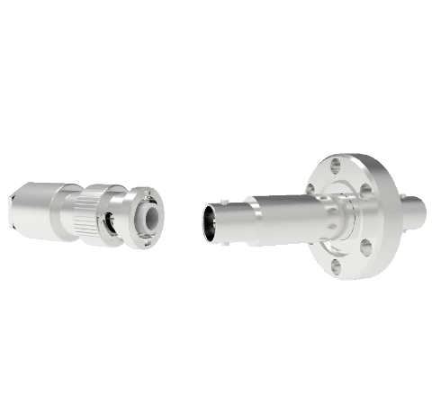 MHV Grounded Shield Recessed 5kV 3.6 Amp CF1.33 Flange With Plug