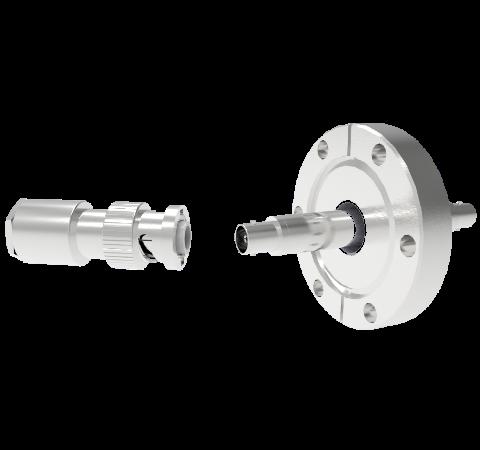 MHV Floating Shield  5kV 3.6 Amp CF2.75 Flange With Plug