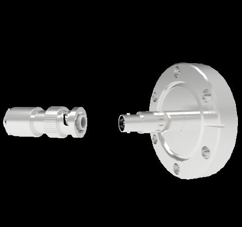 MHV Grounded Shield 5kV 3.6 Amp CF2.75 Flange With Plug