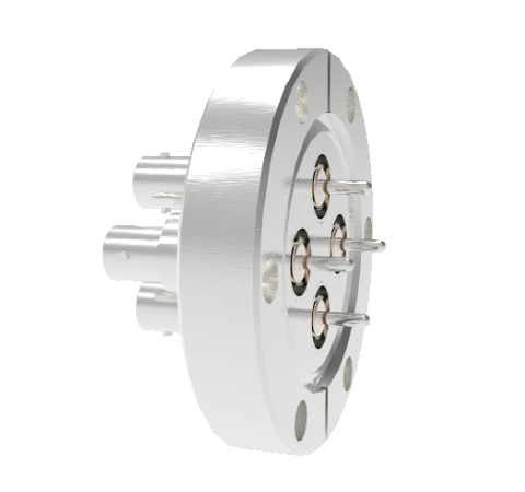 MHV Grounded Shield Recessed 5kV 3.6 Amp 0.094 304 Stn. Stl. Conductor 4 each CF2.75 Without Plug