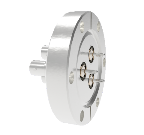 MHV Grounded Shield Recessed 5kV 3.6 Amp 0.094 304 Stn. Stl. Conductor 3 each CF2.75 Without Plug