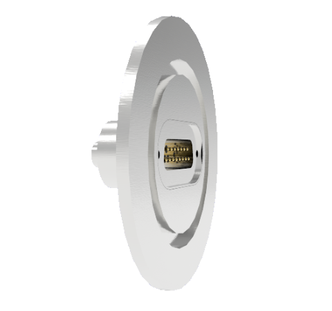 15 Pin Sub D 24308 Series 500V 5 Amp 0.040 Stn. Stl. Gold Plated Conductor KF50 Without Plug