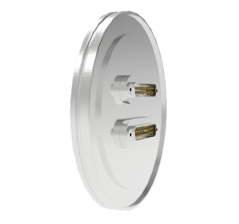 25 Pin Sub D 24308 Series 500V 3 Amp 0.040 Stn. Stl. Gold Plated Conductor ISO LF100 Without Plugs