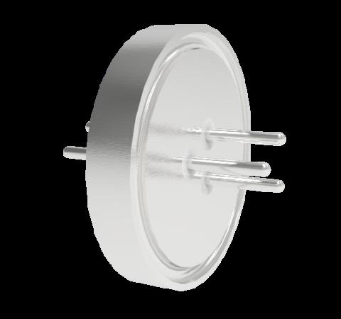 0.040 Conductor Diameter 3 Pin 1kV 2.5 Amp 300 Series SS Conductor Weld