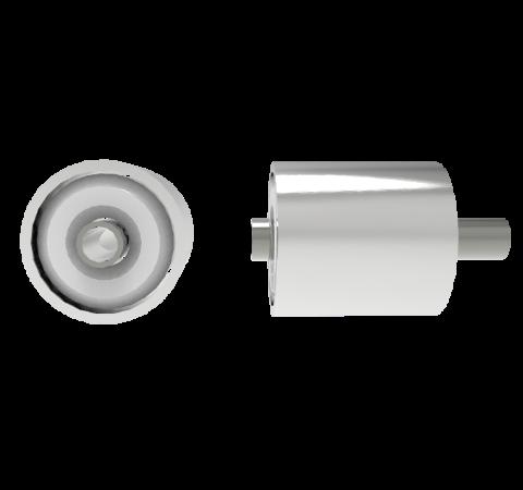 500V Kovar Tube Feedthrough, 0.032 Inch Inner Diameter, 0.042 Inch Tube Diameter, Weld In