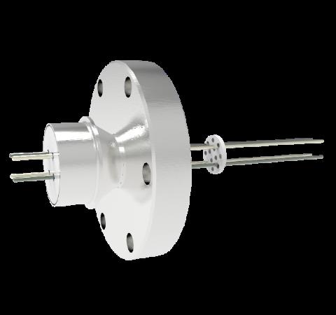 0.062 Conductor Diameter 4 Pin 5kV 4.8 Amp Alumel Conductor in a CF2.75
