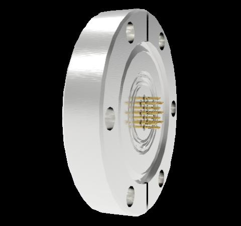 10 Pin Circular Connector, 26482 Series, 1kV, 3 Amp, Gold Plated Conductors, Single Ended, CF2.75