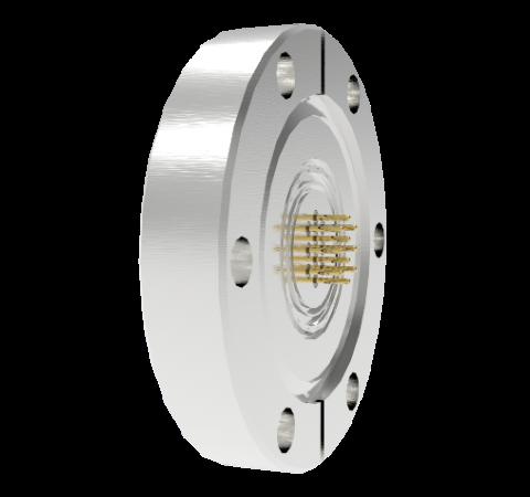 19 Pin Circular Connector, 26482 Series, 1kV, 3 Amp, Gold Plated Conductors, Single Ended, CF2.75