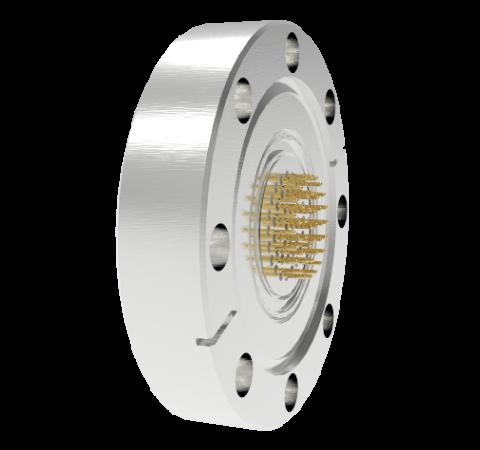 41 Pin Circular Connector, 26482 Series, 1kV, 3 Amp, Gold Plated Conductors, Single Ended, CF2.75