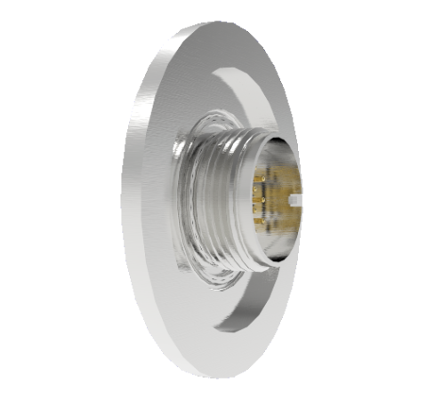 10 Pin Circular Connector, 26482 Series, 1kV, 5 Amp, Gold Plated Conductors, Double Ended, ISO KF40