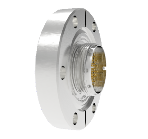 32 Pin Circular Connector, 26482 Series, 1kV, 3 Amp, Gold Plated Conductors, Double Ended, CF2.75